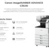 Canon iR ADVANCE C3520i 3525i 3530i Technische Daten