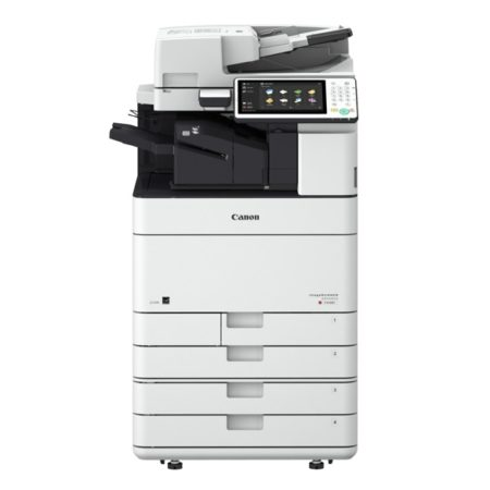 Canon iR ADVANCE C5535i 5540i 5550i 5560i Front Finisher 4 Kassetten