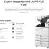 Canon iR ADVANCE 4535i Technische Daten